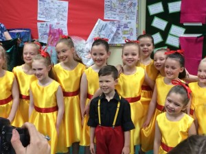 Our Junior Troupe who achieved 2nd place in the 13 and under section against much older groups, amazing achievement!!!